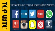 Top 10 Most Popular Social Media Sites and Web Apps