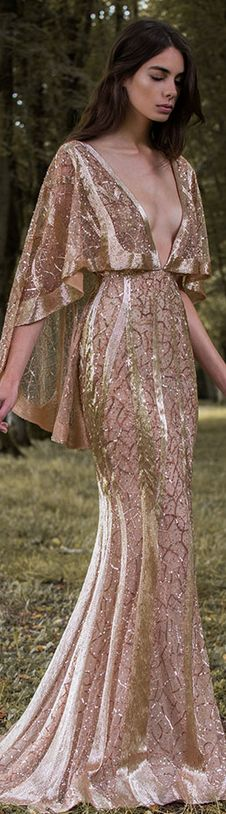 Paolo Sebastian 2016/17 Autumn Winter - Gilded Wings. #nude #elegant #sexy…