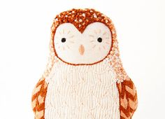 Hey, I found this really awesome Etsy listing at https://www.etsy.com/listing/150459055/barn-owl-diy-embroidery-kit