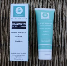 Nourishing and Recharging Dull Dry Winter Skin with Oz Naturals Ocean Mineral Facial Cleanser #OzNaturals