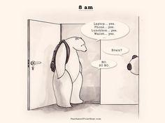 » 8 am Panda and Polar Bear