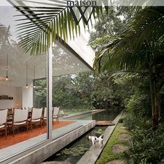 Yucatan House ©Designer: Isay Weinfeld ©Photographer: Fernando Guerra