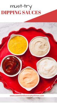 Dipping sauces are a quick and easy way to jazz up your same old dinners and make an exciting addition to an appetizer tray. #howtomakedippingsauces #dippingsaucerecipe #dippingsauceforfries Sauce Recipes, My Recipes, Cooking Recipes, Healthy Recipes On A Budget, Vegetarian Recipes Dinner, Easy Thanksgiving Recipes, Honey Mustard Sauce, Fry Sauce