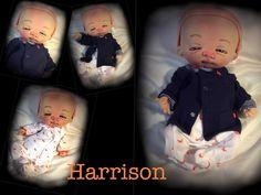 HARRISON THE LABOR DAY BABY by doll artist Jan Shackelford Facebook Jan Shackelford www.janshackelforddolls.com