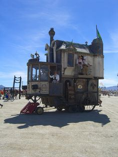Burning Man 2010 (by Tanais Fox)