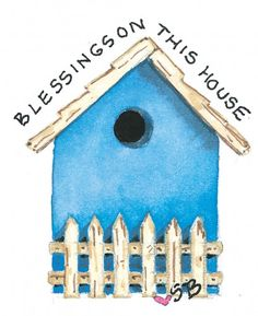Birdhouse by Susan Branch