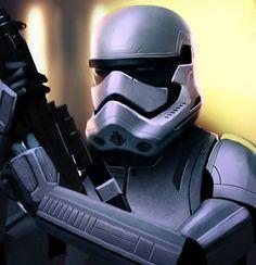 Star Wars Episode VII - Stormtrooper redesign/concept art by Juan Fernandez *