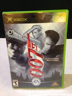 James Bond 007: Everything or Nothing  (Xbox, 2004) 100% COMPLETE - Good