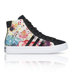 ADIDAS ORIGINALS WOMEN'S COURT VANTAGE MID FARM