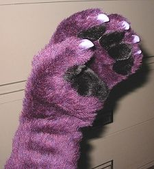 HOW TO MAKE CUSTOM HAND PAWS FROM SCRATCH WITH CLAWS AND PAW PADS