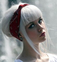 White Blonde Hair - The latests trends in women's hairstyles and beauty