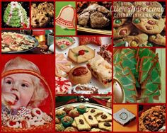 A treasury of 100  vintage Christmas cookie recipes  1950s, 1960s, 1970s, 1980s,