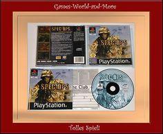 SPEC OPS:AIRBORNE COMMANDO für Playstation1,Ps1,Ansehen!InOVP!!!