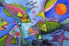 pretty fishes by karincharlotte on deviantART
