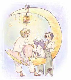 Asgard Princes || Thor & Loki || Cr: 篠森もきゅ