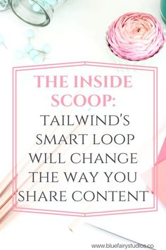 Not only will this feature save you tons of time, keep you consistently active, and save you from having to always remember when to reshare your content - with customizable settings like group board rules, you don't have to worry about getting flagged as spam! #tailwindtips #pinterestmarketing #pinterestforbusiness #socialmediamarketing #bluefairystudios