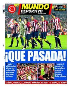 Portada Mundo Deportivo 16 de marzo de 2012