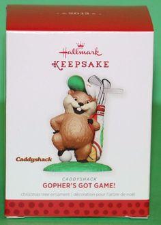 Hallmark Keepsake 2013 Caddyshack Gopher's Got Game ornament NEW! #babescollectibles