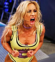 The Irish Lass Kicker looks to defeat SmackDown Women's Champion Carmella and earn a title bout against The Princess of Staten Island at SummerSlam. Wrestling Stars, Wrestling Divas, Women's Wrestling, Wrestling Senior Pictures, Cheerleading Pictures, Hottest Wwe Divas, Carmella Wwe, Becky Wwe, Wwe Girls