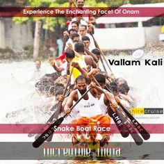 """Vallam Kali - the traditional snake boat race of Kerala"" #IncredibleIndia #ItHappensOnlyInIndia #HireCruise #ReturnToIndia"
