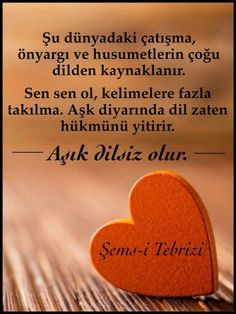 Şems-i Tebrizi Qoutes, Life Quotes, Love In Islam, Turkish Language, Life Changing Quotes, Writing Pens, Positive Mind, Meaningful Words, Poems
