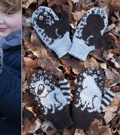 Ringo & Elwood mittens! - I want to make them for me!