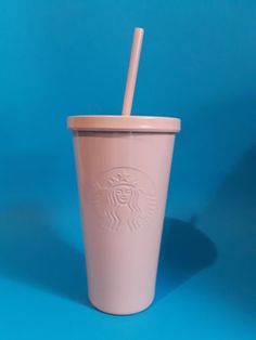 Details about NEW Starbucks 2019 Pink Color Change Cold Cup Tumbler 16 oz 24 oz SAME DAY SHIP Stainless steel starbucks cups in matte pinks, blues, greens.