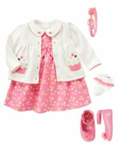 Newborn Girl Cupcake Cutie Line – Fall 2012