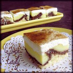 Anya főztje: Tejfölös-pudingos sütemény, Krátersüti