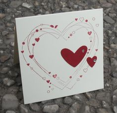 Simple Heart Card