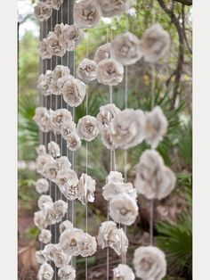 Gorgeous Garland Wedding Inspiration ~ we ❤ this! moncheribridals.com