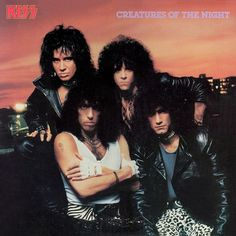 KISS Creatures of the Night CD 1982 Mercury Rare Silver cd no make-up Cover Orig Master NM.Ex by riverbottomrecords on Etsy Kiss Album Covers, Heavy Metal, Vinnie Vincent, Eric Carr, Peter Criss, Kiss Photo, Kiss Band, Thing 1, Ace Frehley