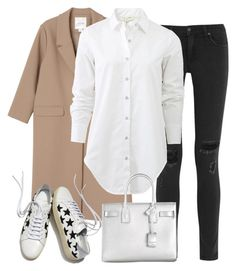"""""""Untitled #2602"""" by elenaday ❤ liked on Polyvore featuring Monki, rag & bone, Yves Saint Laurent, women's clothing, women's fashion, women, female, woman, misses and juniors"""