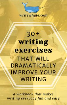 A writing workbook full of writing exercises. Learn how to come up with creative writing ideas for a novel, develop your observational skills, and make writing every day fun and easy. | Writing resources | writing habit | learn to write | write a novel | workbook | #amwriting #writingexercises #writingprompts #writerslife #writingresources