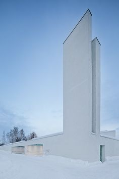 Chapel of St. Lawrence, Finland by Avanto Architects