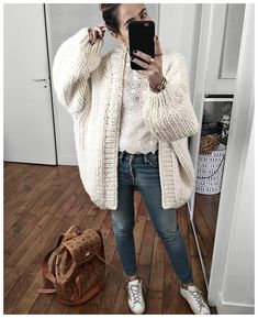 "Audrey on Instagram  ""Je réponds à toutes les questions du we dans la  soiree! • Knit  ilovemrmittens (from  gang of earlybirds) • Lace top   sezane (from ... 883f931d426d"