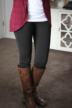 Dear Stylist: I would like some long (not cropped) work pants that I could wear with tall boots. You can't beat a great pair of black pants but I already have multiple pairs so maybe another color?  | Reagan Skinny Pant from Liverpool