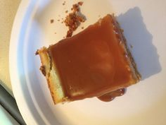 Salted Cajeta Cheesecake Bar   Fresh Cupcakes by Jess www.freshcupcakesbyjess.com  http://www.facebook.com/pages/Fresh-Cupcakes-by-Jess/115308395206367?ref=tn_tnmn