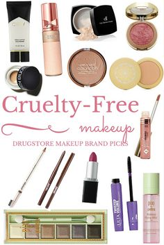 Free Makeup Picks Didn't realize it was so easy to find cruelty free makeup! Totally keeping this for my next makeup haul.Didn't realize it was so easy to find cruelty free makeup! Totally keeping this for my next makeup haul. Drugstore Makeup Brands, Best Makeup Products, Free Products, Beauty Products, Beauty Tips, Vegan Products, Beauty Full, Beauty Stuff, Best Natural Makeup