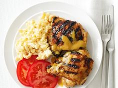 Food Network invites you to try this Carolina-Style Barbecue Chicken recipe from Food Network Kitchens. Grilling Recipes, Cooking Recipes, Healthy Recipes, Healthy Cooking, Healthy Meals, Yummy Recipes, Healthy Eating, Smoker Recipes, Breakfast Healthy