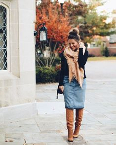 New Looks and Trends. 51 Modest Casual Style Looks Trending Today – Modest Fall fashion arrivals. New Looks and Trends. Modest Winter Outfits, Stylish Winter Outfits, Church Outfits, Fall Outfits, Casual Outfits, Cute Outfits, Church Outfit Fall, Modesty Fashion, Thanksgiving Outfit