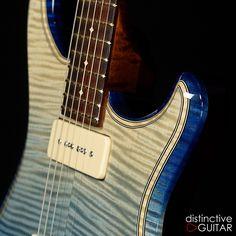 Reverse Blue Wickedburst Knaggs Severn available at http://distinctiveguitar.com