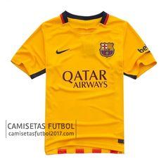 Segunda camiseta de Barcelona 2015 2016   camisetas de futbol baratas