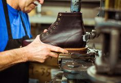 http://chicerman.com  jcrew:  In the Field: Original Chippewa  We partnered with the all-American bootmaker on an exclusive collection based on one of Chippewas first styles. Read more here.  #menshoes