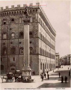 Palazzo Spini o Ferroni e Colonna in Piazza S. Trinita