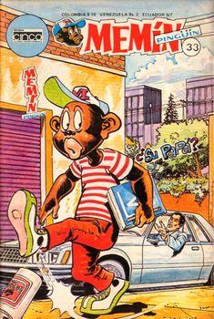 Memin+Comics+|+Mexico+Comic+Sonrisas:+Memin+Pingüin+-+Ed.+Cinco+(31+al+35)
