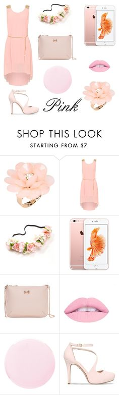 """""""💕Pink💕"""" by natbre ❤ liked on Polyvore featuring Dettagli, WearAll, Ted Baker, Smith & Cult and Carvela"""