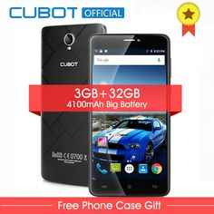 73b9dbac4cd Cubot Max Android 6.0 MTK6753A Octa Core Smartphone 6.0 Inch 3GB RAM 32GB  ROM Cell Phone 4100mAh 4G LTE Mobile Phone