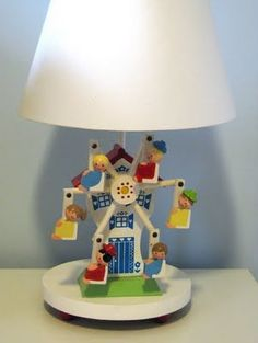 Vintage Irmi lamp