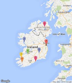 #Ireland romantic trip itinerary: 1. Dublin (0 nights), 2. Belfast (2 nights), 3. Cong (1 night), 4. Adare (1 night), 5. Tralee (3 nights), 6. Kenmare (2 nights), 7. Ardmore (1 night), 8. Kilkenny (1 night), 9. Dublin (2 nights) Get some great trip ideas and start planning your perfect trip with RoutePerfect - an online trip planning tool that helps you create a custom trip itinerary based on your travel preferences, budget and personal style.